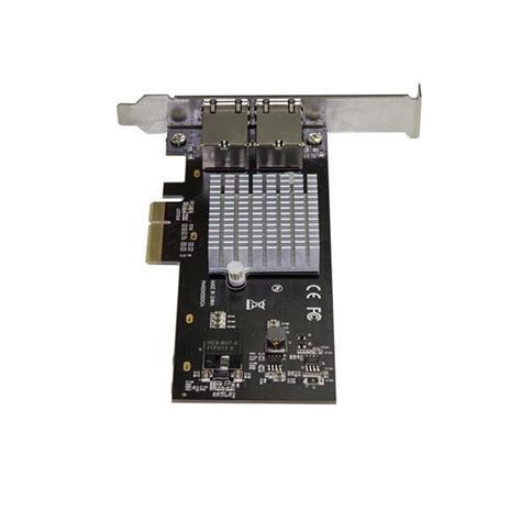 StarTech.com Scheda di Rete Ethernet a 2 porte PCIe 10GBase-T / NBASE-T con chip Intel X550 - 2