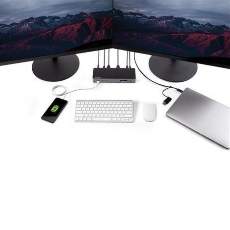 StarTech.com Docking Station Universale per Portatile Dual 4K - USB-C / USB 3.0 - 60W PD - 8
