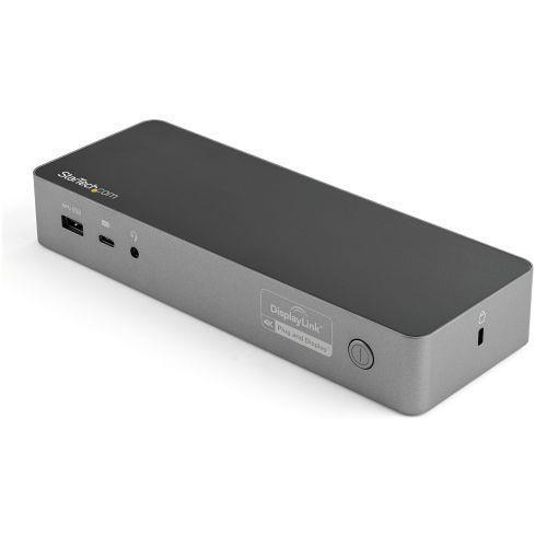 StarTech.com Docking Station Universale per Portatile Dual 4K - USB-C / USB 3.0 - 60W PD - 10