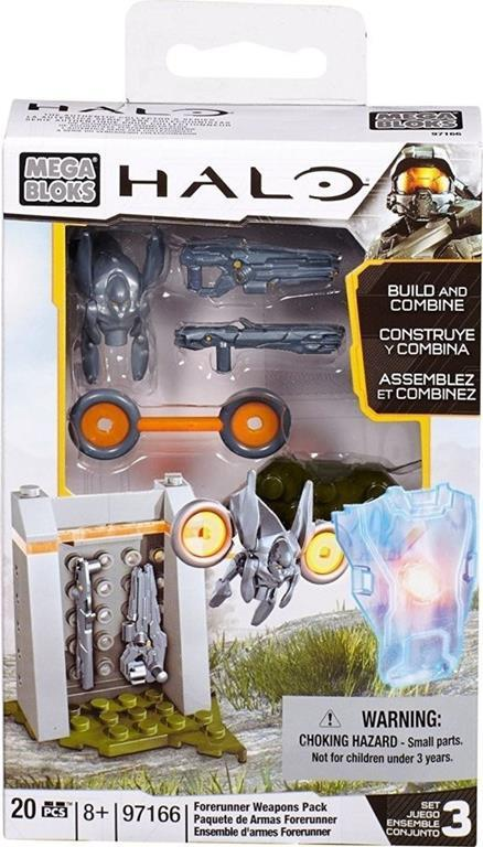 Halo: Forerunner Weapons Pack (97166 20 pezzi)