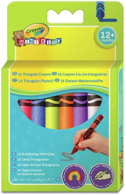 Crayola Mini Kids. 16 Triangular Crayons 16 pezzo(i) - 2