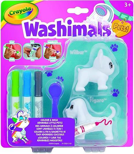 Washimals Set. Ricarica cagnolini