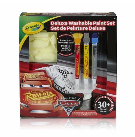 Crayola Cars 3 Deluxe paint kit (L) Guazzo 3 pezzo(i)