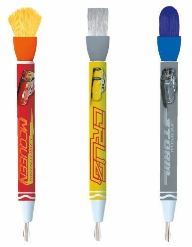 Crayola Cars 3 Deluxe paint kit (L) Guazzo 3 pezzo(i) - 3
