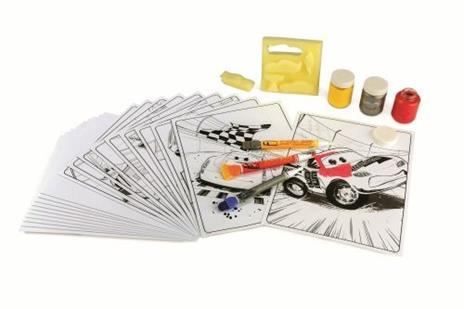 Crayola Cars 3 Deluxe paint kit (L) Guazzo 3 pezzo(i) - 4