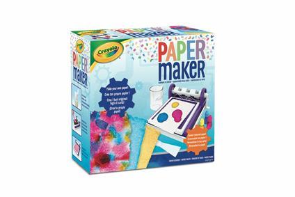 Crayola Laboratorio della Carta, per creare originali fogli di carta, 74 7407
