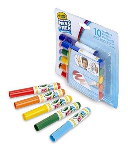 Crayola 256394.012-10 pennarelli Color Wonder, colori magici