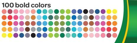 Crayola 58-5100 marcatore Multicolore 100 pezzo(i) - 3