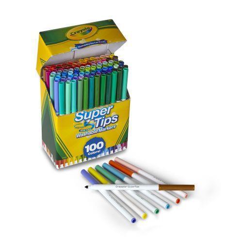 Crayola 58-5100 marcatore Multicolore 100 pezzo(i) - 2