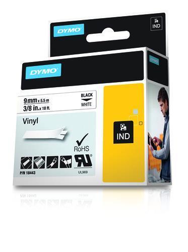 DYMO Etichette in vinile IND - 10