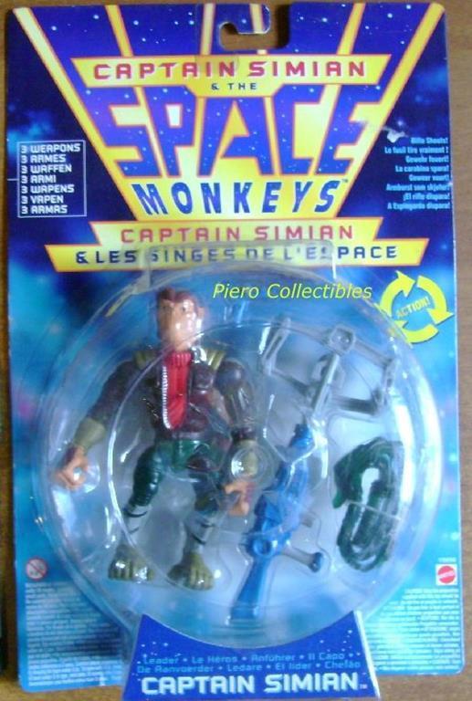 Space Monkeys Captain Simian - 2