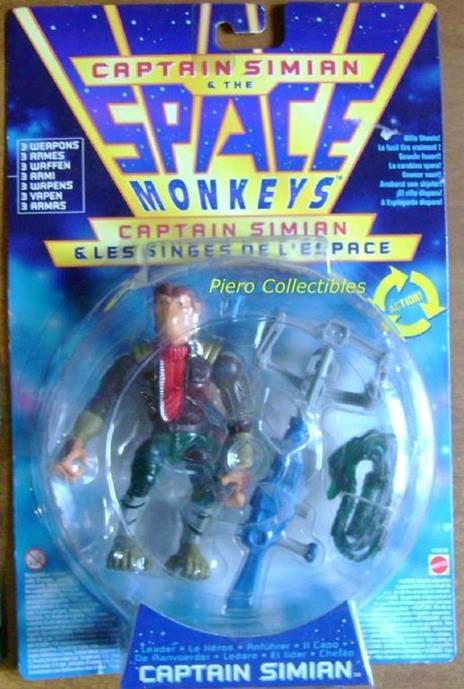 Space Monkeys Captain Simian