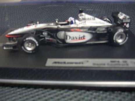 Mattel Mclaren F1 Coulthard 2001 1/43 Mat50210 - 2