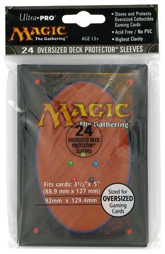 ULTRA PRO Magic Proteggi carte maxi pacchetto da 24 bustine 92mm x 129,4 mm 0/24