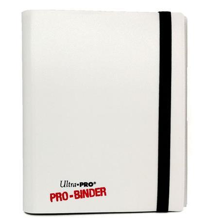 Ultra Pro Portfolio 4 Tasche 10 Pagine Pro-Binder Bianco 0/6
