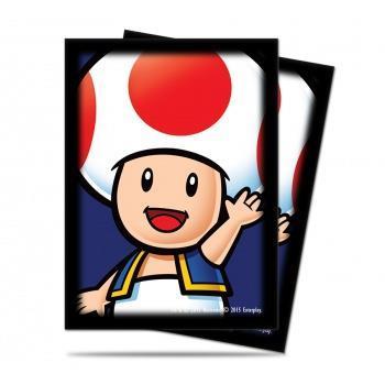 Deck Protector Sleeves Super Mario: Toad (65 Sleeves)