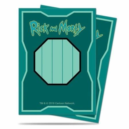 Scatola Mr. Miguardi Rick and Morty. UP Bustine Standard (65 Bustine Protettive)