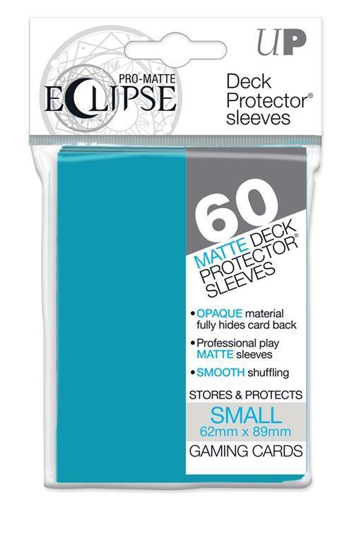 PRO-Matte Eclipse Sky Blue Small Size (60 bustine protettive)