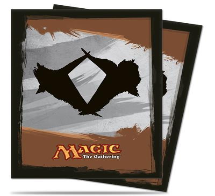 ULTRA PRO Magic Proteggi carte standard pacchetto da 80 bustine Magic Khans of Tarkir Versione 1 0/75