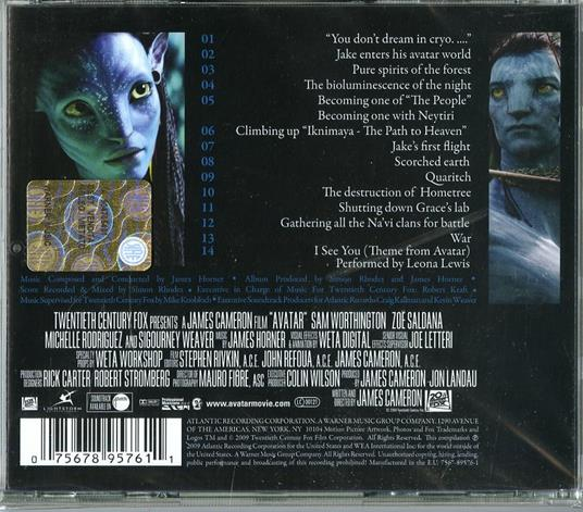 Avatar (Colonna sonora) - CD Audio di James Horner - 2