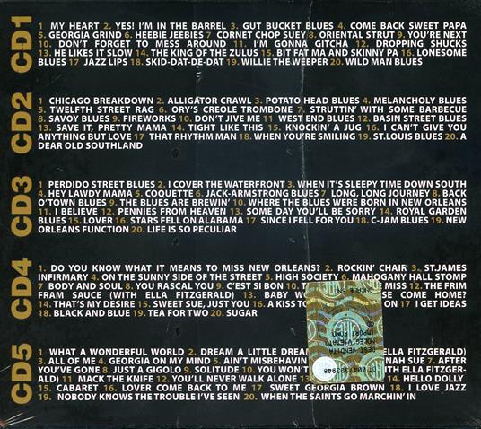 100 Classic Tracks - CD Audio di Louis Armstrong - 2