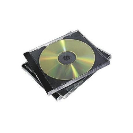 Custodia CD Jewel Case Base Nera Fellowes 98310 - 7