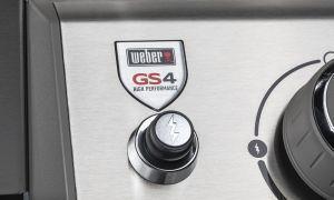 Weber Genesis II E-410 GBS 14070 W Barbecue Gas Carrello Nero, Acciaio inossidabile - 2