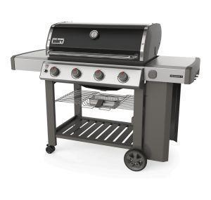 Weber Genesis II E-410 GBS 14070 W Barbecue Gas Carrello Nero, Acciaio inossidabile - 4