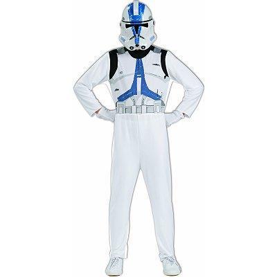Costume Star Wars Clone Trooper 8/10 Anni