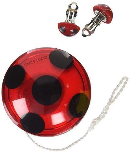 Rubie's Miraculous Ladybug 32930 Yo Yo più e orecchini
