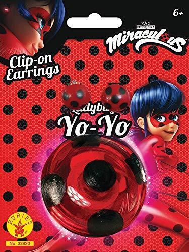 Rubie's Miraculous Ladybug 32930 Yo Yo più e orecchini - 2