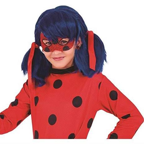 Rubie's Rubies Maschera per occhi Miraculous Ladybug Deluxe, per bambini, taglia unica 34975 - 3