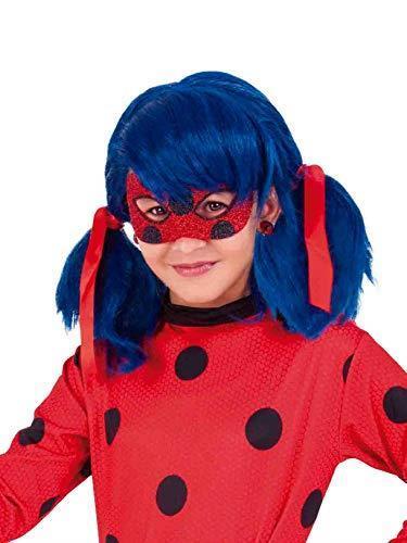 Rubie's Rubies Maschera per occhi Miraculous Ladybug Deluxe, per bambini, taglia unica 34975 - 4