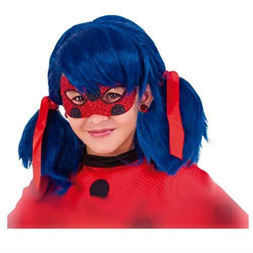 Rubie's Rubies Maschera per occhi Miraculous Ladybug Deluxe, per bambini, taglia unica 34975