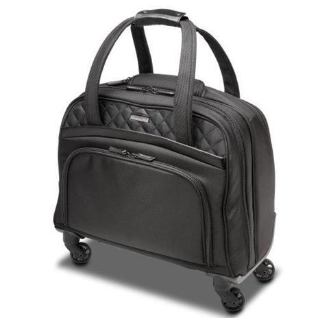 Kensington K60380WW valigia Ruote girevoli Nero Poliestere