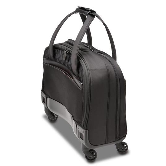 Kensington K60380WW valigia Ruote girevoli Nero Poliestere - 11