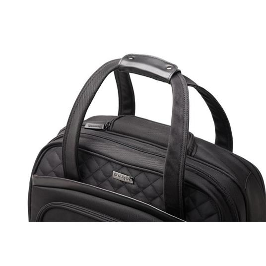 Kensington K60380WW valigia Ruote girevoli Nero Poliestere - 12