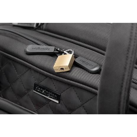 Kensington K60380WW valigia Ruote girevoli Nero Poliestere - 13