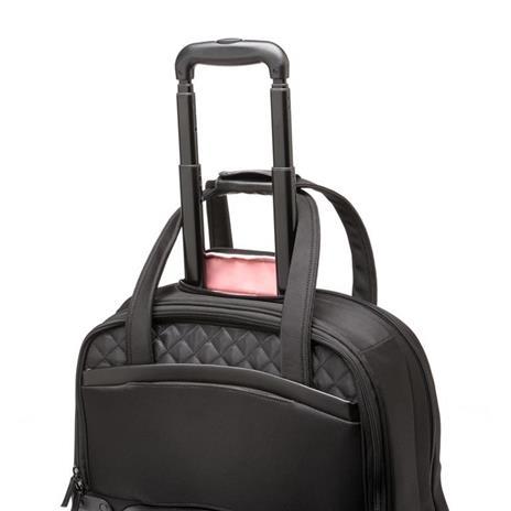 Kensington K60380WW valigia Ruote girevoli Nero Poliestere - 14