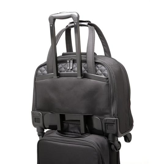 Kensington K60380WW valigia Ruote girevoli Nero Poliestere - 15