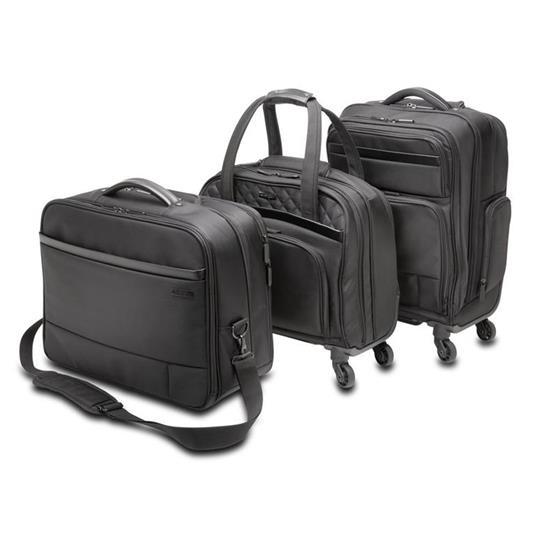 Kensington K60380WW valigia Ruote girevoli Nero Poliestere - 2