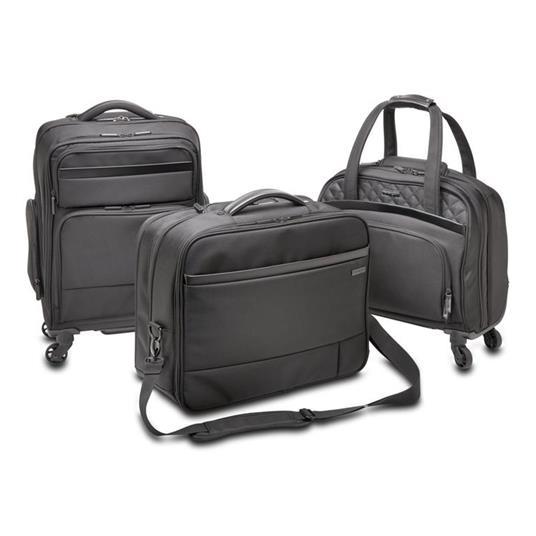 Kensington K60380WW valigia Ruote girevoli Nero Poliestere - 3