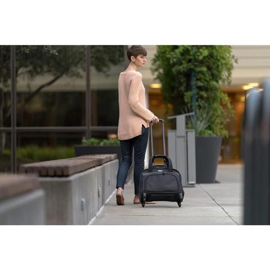 Kensington K60380WW valigia Ruote girevoli Nero Poliestere - 5
