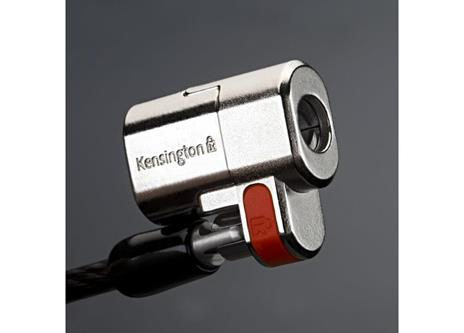Kensington Lucchetto ClickSafe® Twin per notebook - Keyed Different cavo di sicurezza - 19