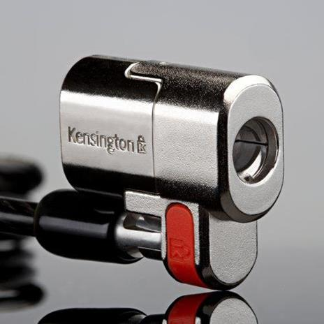 Kensington Lucchetto ClickSafe® Twin per notebook - Keyed Different cavo di sicurezza - 27
