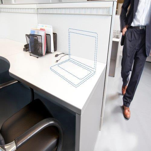 Kensington Lucchetto ClickSafe® Twin per notebook - Keyed Different cavo di sicurezza - 28