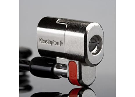 Kensington Lucchetto ClickSafe® Twin per notebook - Keyed Different cavo di sicurezza - 13