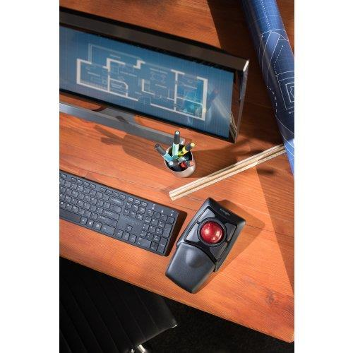 Tastiera con Mouse WiFi Kensington Trackball Expert - 19