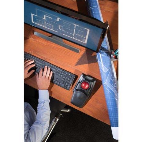 Tastiera con Mouse WiFi Kensington Trackball Expert - 20