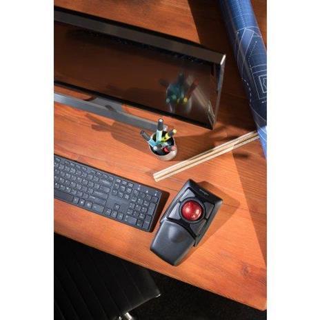 Tastiera con Mouse WiFi Kensington Trackball Expert - 13